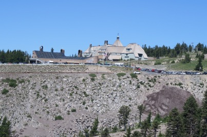 Timberline Lodge was deceptively far away!