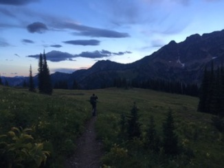 Leaving Camp