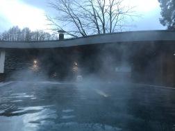 Spa hotel = good idea in winter!