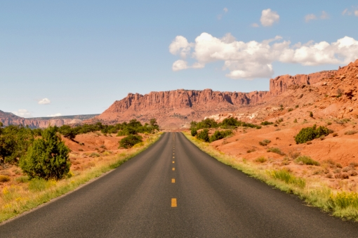 Scenic Route 12 drive through Utah