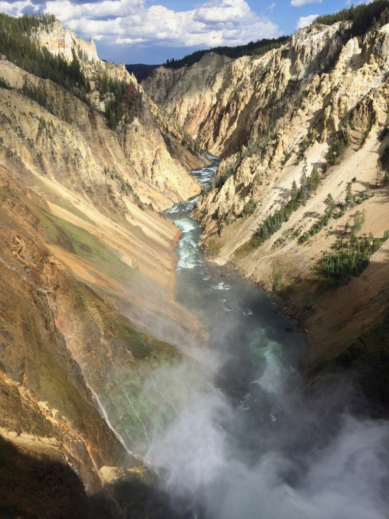 The mighty Yellowstone River & Grand Canyon