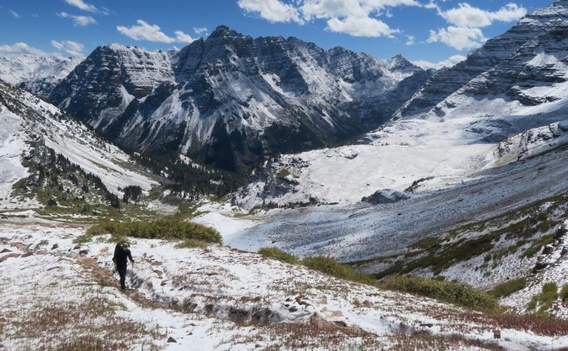 Colorado's [not quite] Four Pass LoopTrail